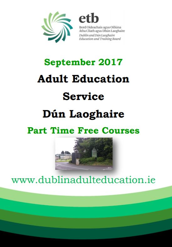 dunlaoghaire adult education